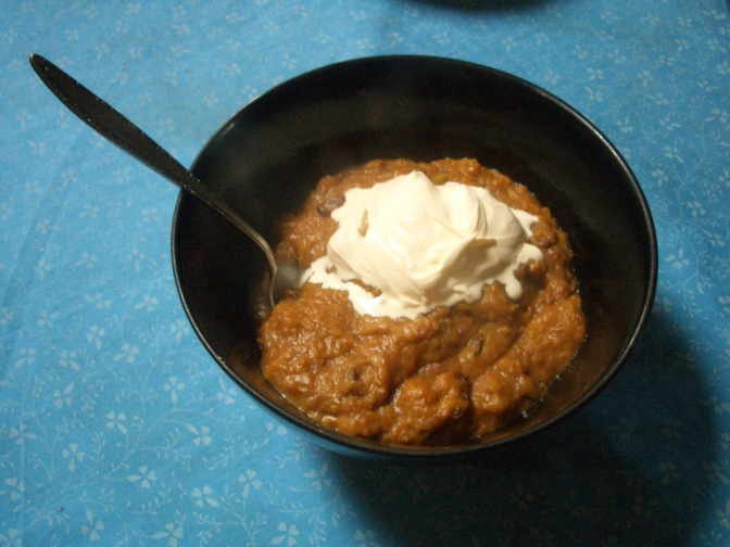 permaculture pumpkin recipe for sweet pumpkin mash