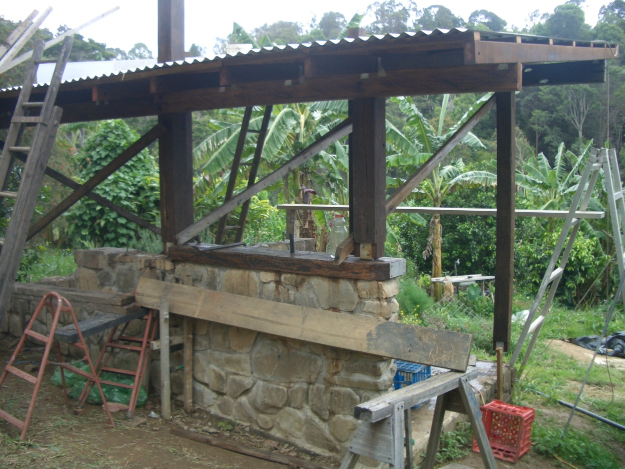 Building the permaculture way: self reliant for most building components