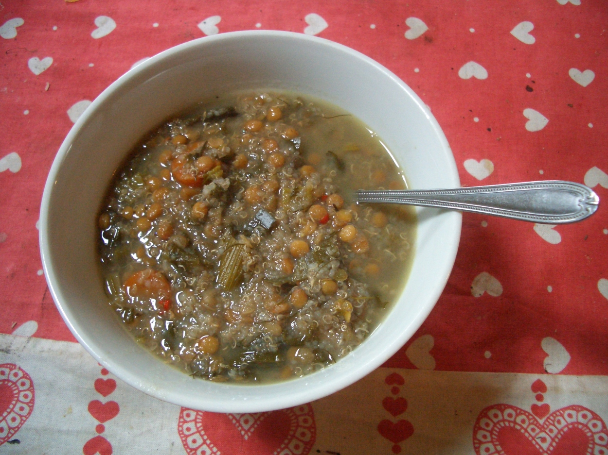 Soup bones used for a hearty beef and veg soup, a recipe from the Permaculture Garden