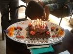 Miki's birthday cake...