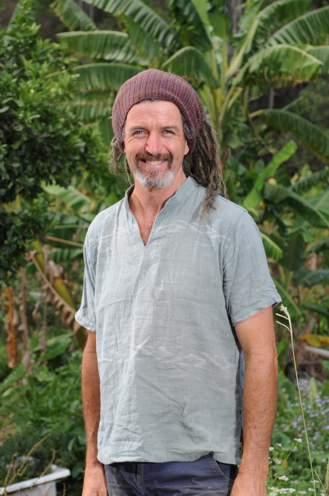 Tom Kendall of the Permaculture Research Institute Sunshine Coast.