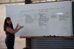 In the mean time the Urban Permaculture course is conducted on site by Anne Gibson