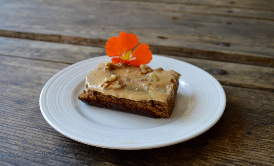 Gluten Free Carrot Cake at cookfoodforhealth.com, recipe by Zaia