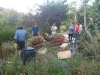 Composting at Maungaraeeda, home of Tom Kendall and the PRI Sunshine Coast