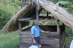 Humanure bank at Maungaraeeda, designed by Tom Kendall at PRI Sunshine Coast