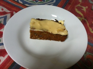 Permaculture Deaign Certificate course day 1 Gluten Free Vegan Carrot Cake