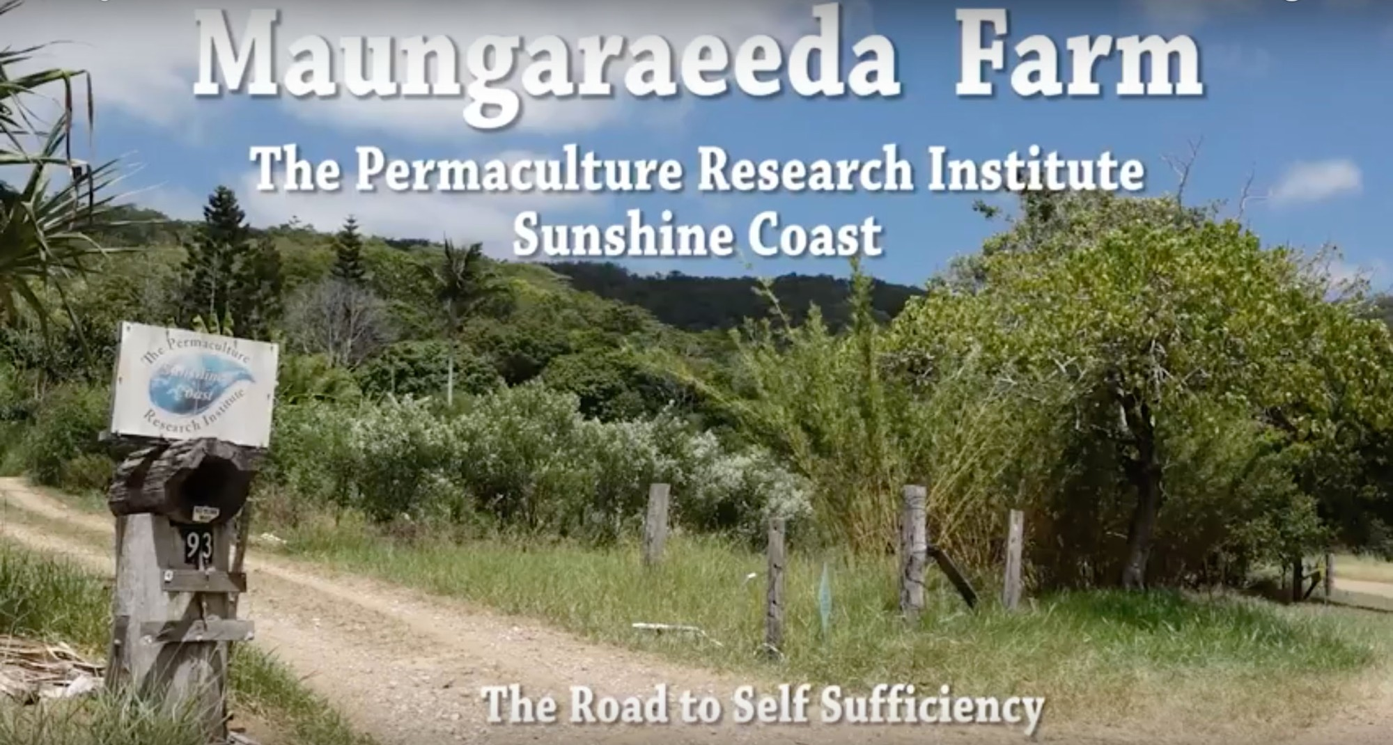 Maungaraeeda Farm, the road to self sufficiency with Tom Kendall and Zaia