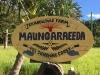 Maungaraeeda and Permaculture Research Institute Sunshine Coast sign